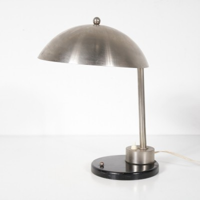 1930s Chrome desk lamp by Daalderop