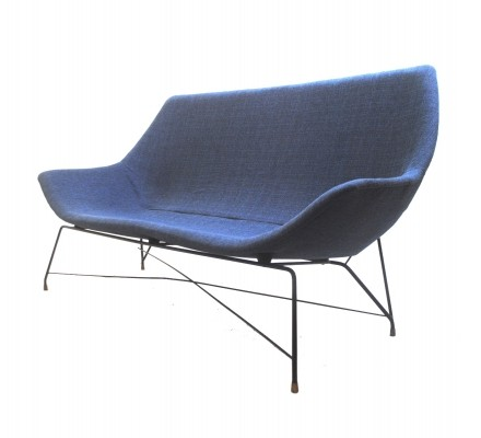 Sofa by Augusto Bozzi for Saporiti, Italy 1950s