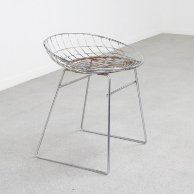 KM05 wire stool by Cees Braakman & A. Dekker for Pastoe, 1953