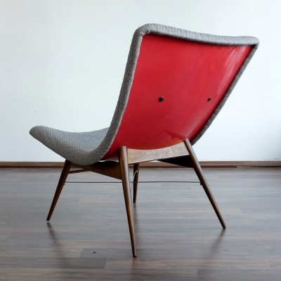 Fiberglass TV Chair by Miroslav Navrátil for Vertex