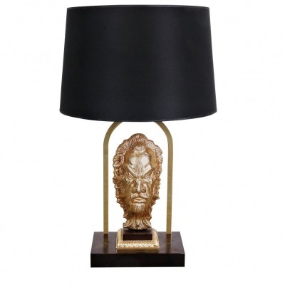 1970s French Messing Table Lamp