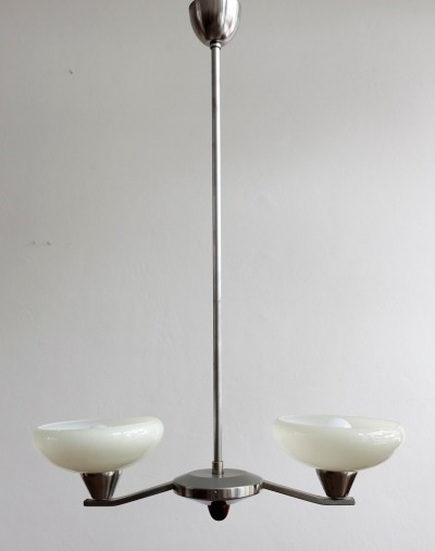 502/2 hanging lamp by Lidokov, 1950s