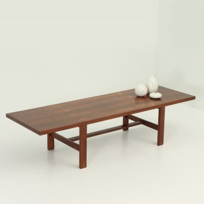 Large Norwegian Coffee Table in Rio Rosewood