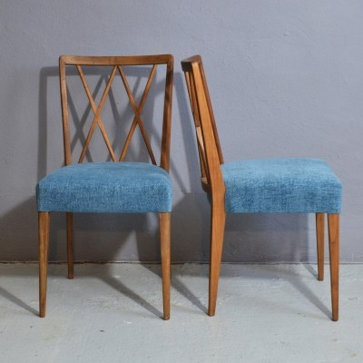 Pair of Poly Z chairs by Abraham A. Patijn, 1950s