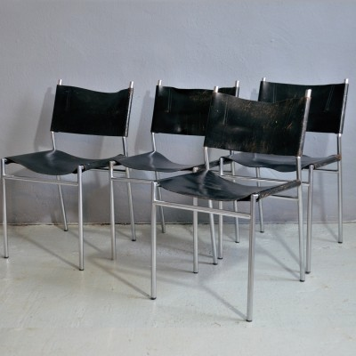 Set of 4 SE06 chairs by Martin Visser