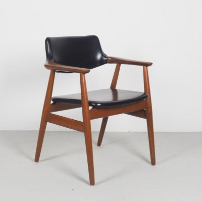 Vintage Danish Teak GM11 Chair by Svend Age Eriksen for Glostrup, 1960s
