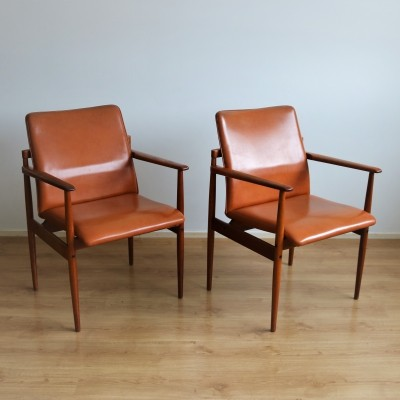 2 x Thereca arm chair, 1960s