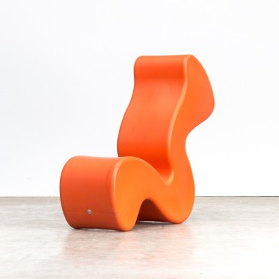 Verner Panton 'phantom chair' for Innovation Randers, 1990s