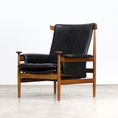 Finn Juhl 'Bwana model 152' lounge chair for France & Son, 1960s