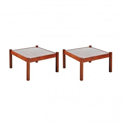 1960s Percival Lafer Pair of Coffee Tables