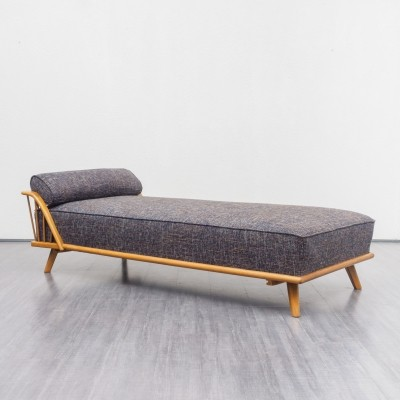 1950s daybed in walnut