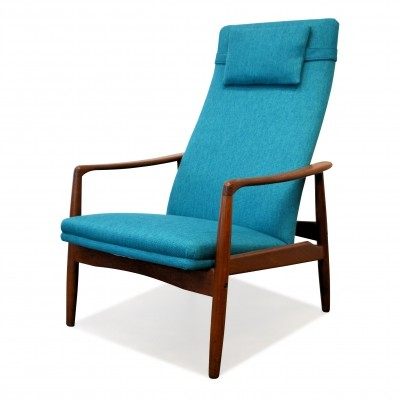 Vintage Søren Ladefoged teak lounge chair