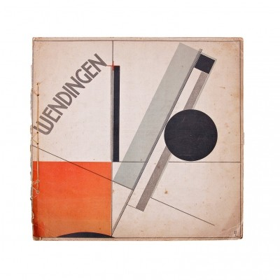 1921s Wendingen, Issue 11, Cover by El Lissitzky