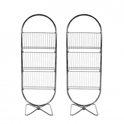 Pair of Verner Panton Rack Displays for Fritz Hansen, 1980s