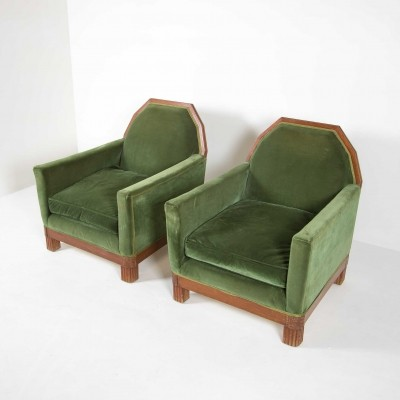 2 x vintage arm chair, 1930s