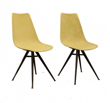 Pair of Shell chairs by Vertex, 1950s