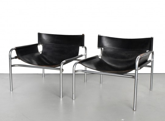 2 x lounge chair by Walter Antonis for Spectrum, 1960s