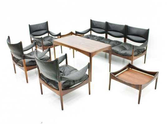 Large Seating Group by Kristian Vedel, Denmark 1960s