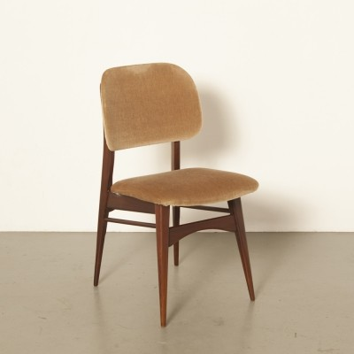 4 x Milaan dining chair by Louis van Teeffelen for Wébé, 1960s