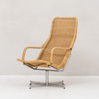 Swivel chair by Dirk van Sliedregt, Netherlands 1960s