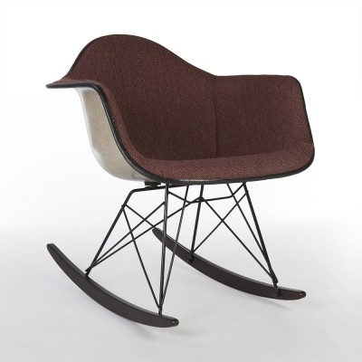 Purple/Black Herman Miller Original Eames RAR Rocking Arm Chair