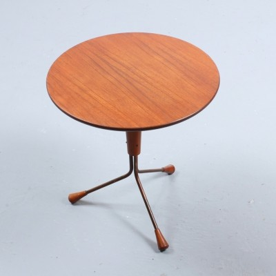 Tripod side table by Albert Larsson for Alberts Tibro, 1950s