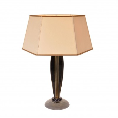 1960s Table Lamp by Flavio Poli for Seguso, Italy