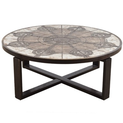 Danish Tile table by Ox Art, 1976