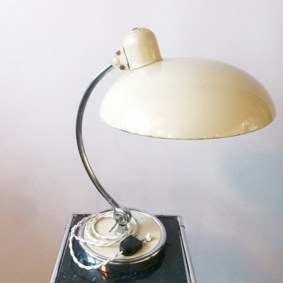 President 663 desk lamp by Christian Dell for Kaiser Leuchten, 1940s
