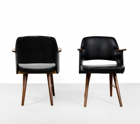 2 x FT30 dining chair by Cees Braakman for Pastoe, 1960s