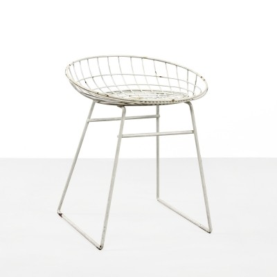 KM05 stool by Cees Braakman for Pastoe, 1950s