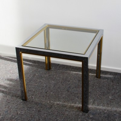 Luxurious Side Table by Renato Zevi, 1970's