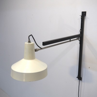 Dutch wall lamp by Niek Hiemstra for Hiemstra Evolux, 1960s