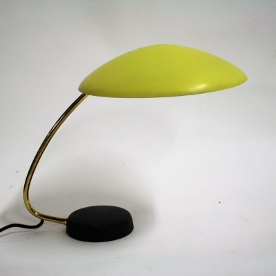 Yellow desk lamp by Cosack leuchten, 1950s