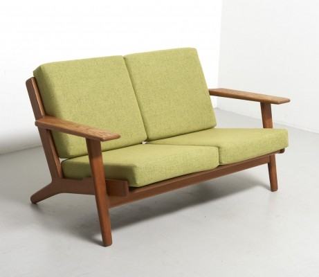 GE-290/2 sofa by Hans Wegner for Getama, 1950s