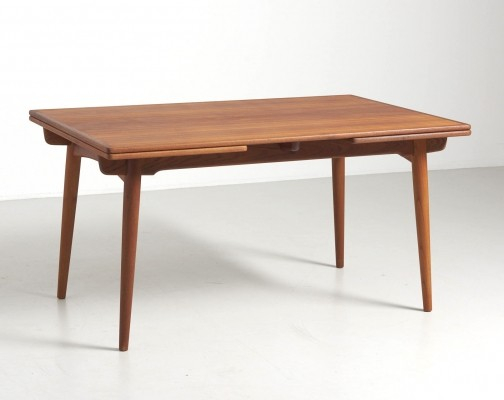 AT-312 dining table by Hans Wegner for Andreas Tuck, 1950s