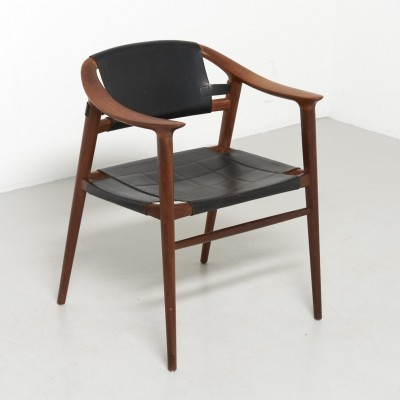 Bambi arm chair by Rolf Rastad & Adolf Relling for Gustav Bahus, 1950s