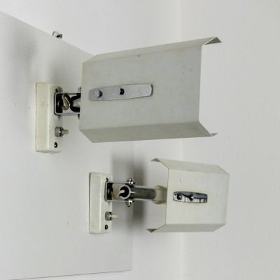 Pair of Mod. 2133 Adjustable Stilnovo Wall Lights, 1960s
