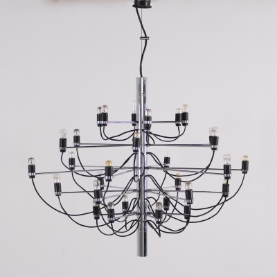 Model 2097/30 chandelier by Gino Sarfatti for Oluce