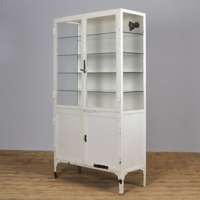 Medical display cabinet, 1940s
