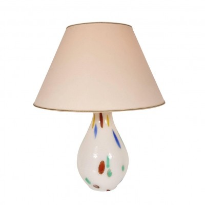 Murano Glass Table Lamp by Dino Martens for Aureliano Toso, Italy 1960s