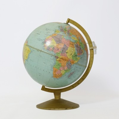 World globe by Taride, 1960s