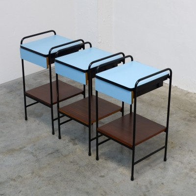 Console Side Tables by Willy Van Der Meeren & Eric Lemesre for Tubax