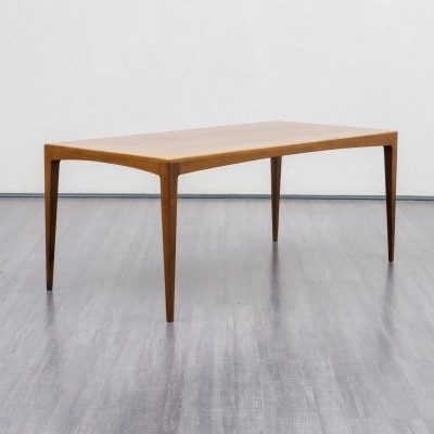 Midcentury walnut coffee table by WK Möbel, Germany