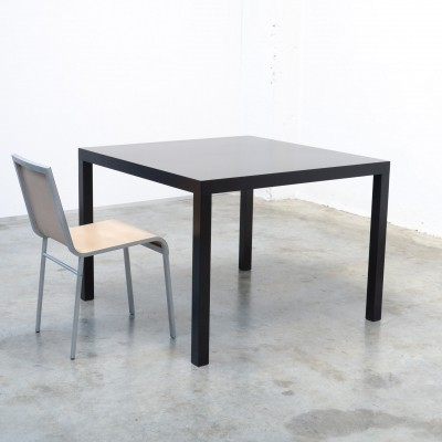 Square 'Black Edition T88A' Table by Maarten Van Severen for Top-Mouton