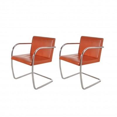 Stock of 'BRNO' Chairs by Mies Van Der Rohe for Knoll International, USA 1970s