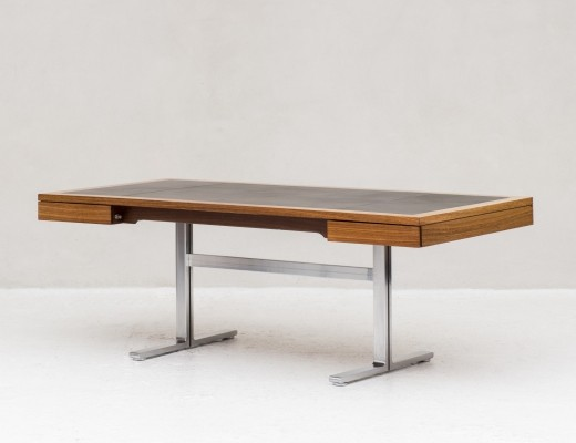 Large executive desk by Walter Knoll for the Art Collection series, Germany 1970