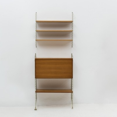 Wall unit by Nisse Strinning for String, Sweden 1950s