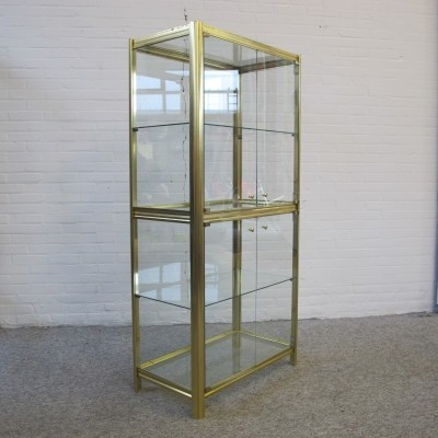 Hollywood Regency style display cabinet, 1970s