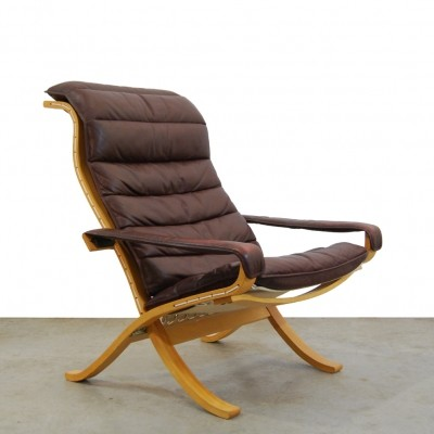 Scandinavian vintage 'flex' lounge chair by Ingmar Relling for Westnofa, 1970s